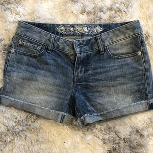 Never been worn! Adorable denim cutoff shorts!